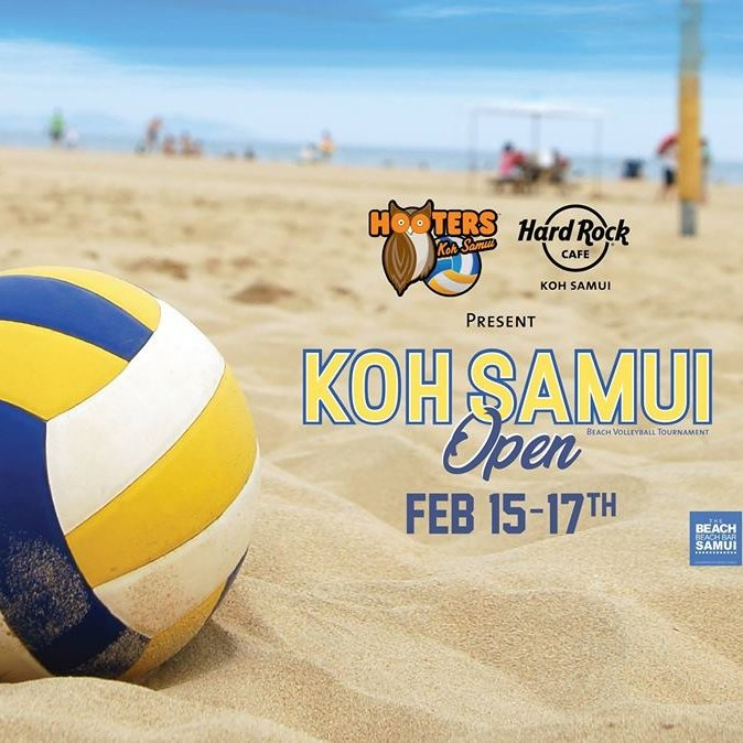 Samui Open Beach Volleyball Tournament Afterparty