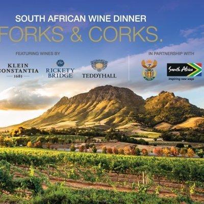 Forks & Corks - South African Wine Dinner
