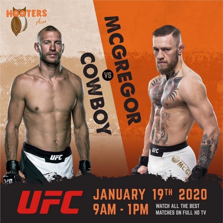 Cowboy VS McGregor