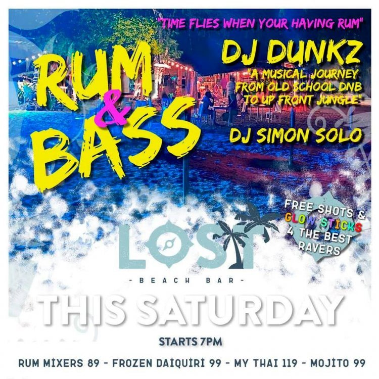 RUM & BASS PARTY!