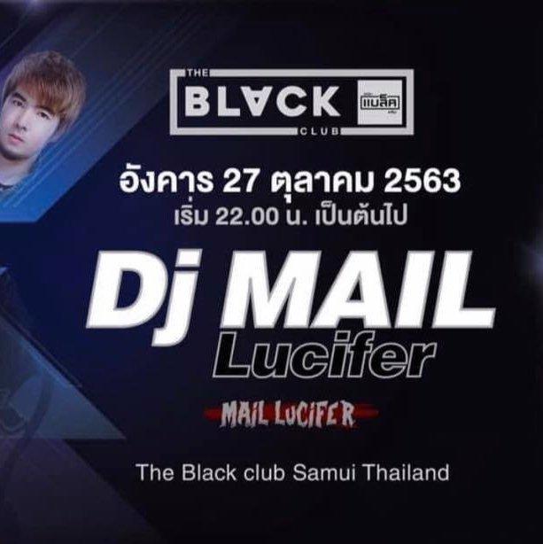DJ Mail Lucifer @ The Black Club Samui