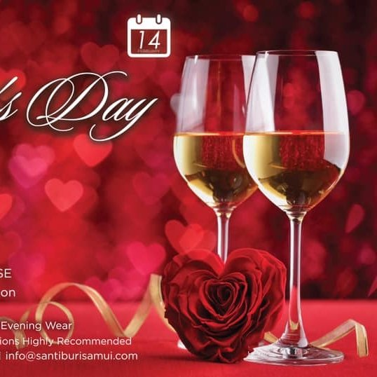 Valentine's Day at Santiburi Koh Samui