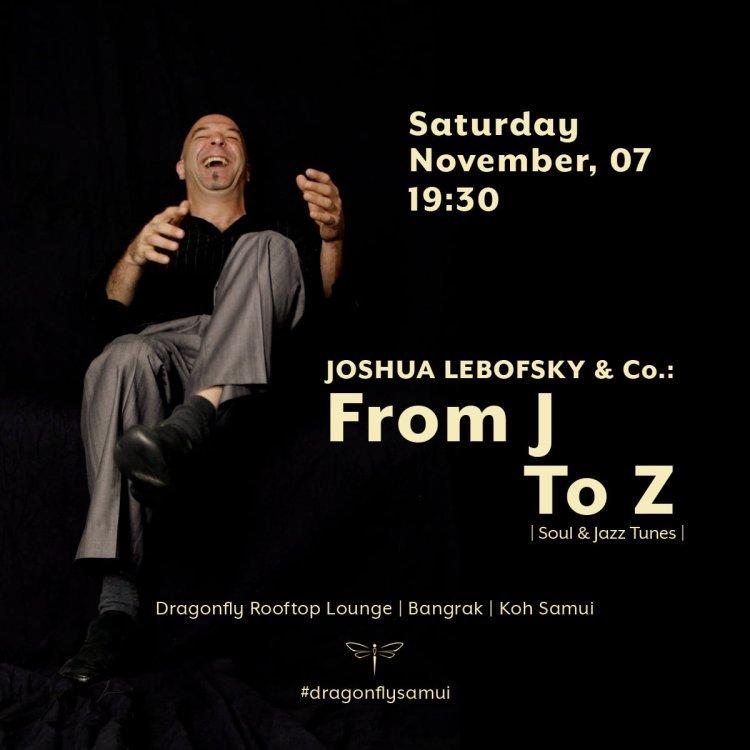 Joshua Lebofsky & Co. : From J To Z | Jazz & Soul Live