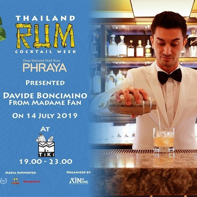 Phraya presents Meet the Craft : Thailand Rum Cocktail Week