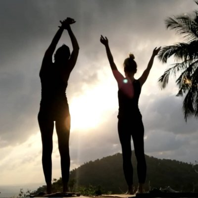 Sunrise hike: sun salutations and meditation