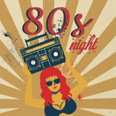 80's Night at Trade Wind Restaurant