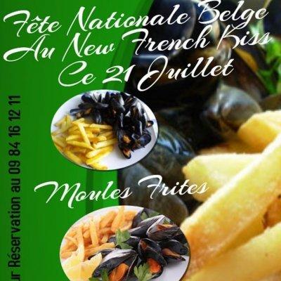Fête Nationale Belge, Ce 21 Juillet, Moules Frites