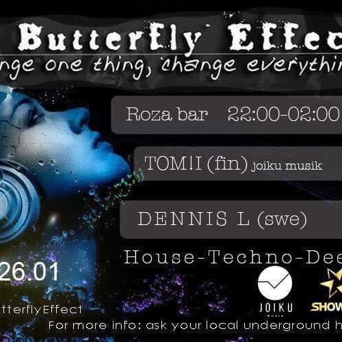 The Butterfly Effect. Reincarnation. / House, Techno, Deep!