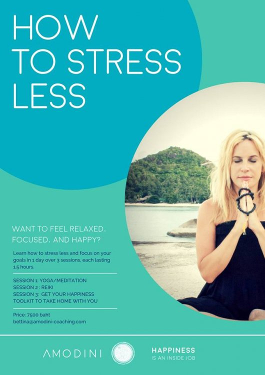 Stress Less, Choose Happiness 1-Day Private Workshop