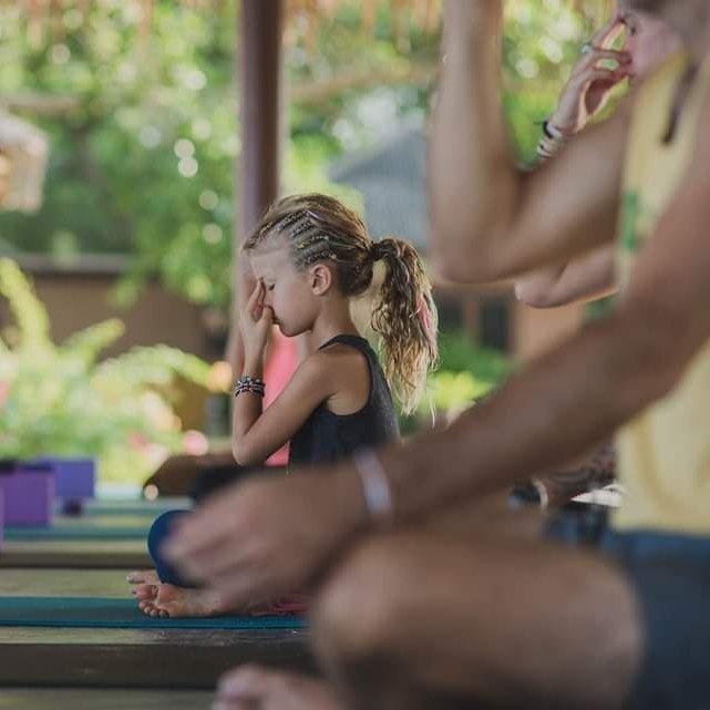 Kid's Yoga Class Anahata Beachfront Resort