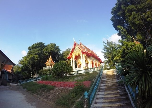 Go through a Thai Temple