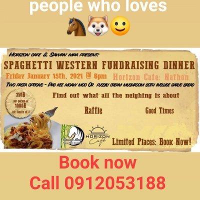 Spaghetti Western fundraising dinner