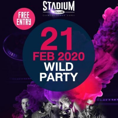 Stadium Club Wild Party
