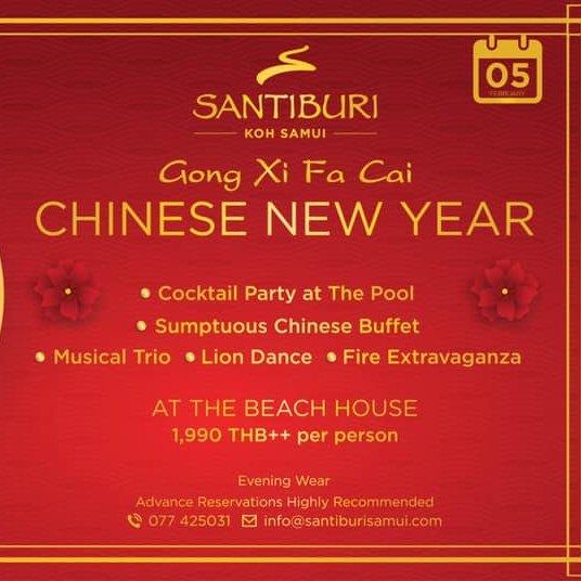 Chinese New Year AT Santiburi Koh Samui