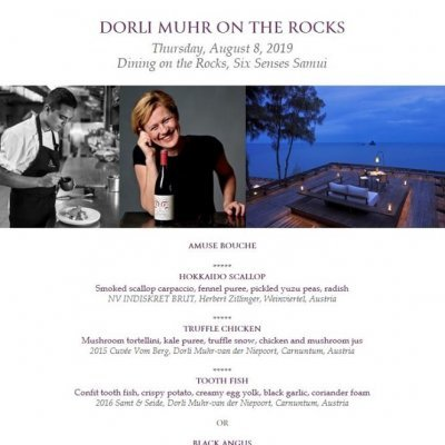 Dorli Muhr on the Rocks
