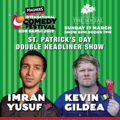 St Patricks Day Comedy Night