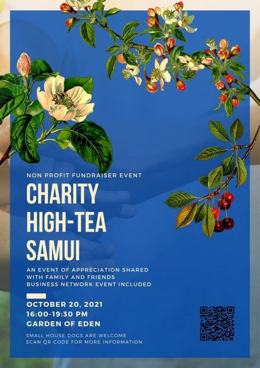 Charity high tea samui