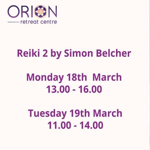 Reiki 2 by Simon Belcher