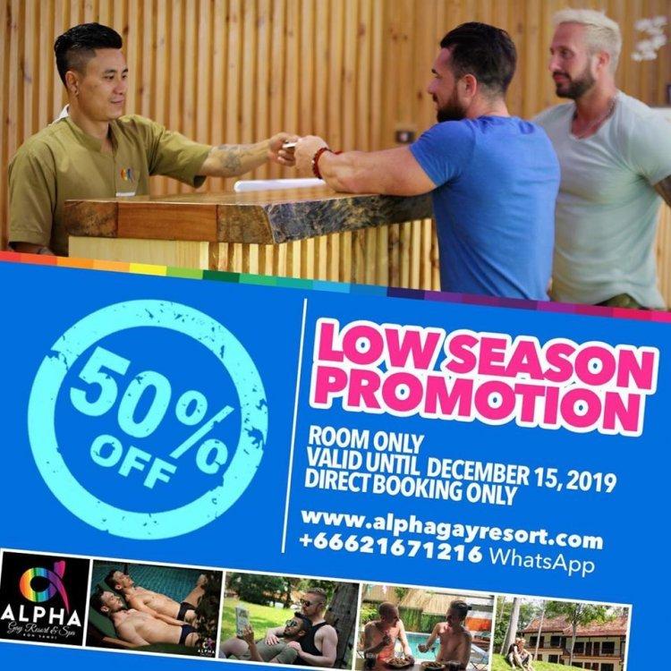 Low season promotion