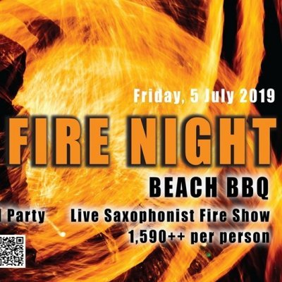 Fire Night Beach BBQ at Santiburi Koh Samui