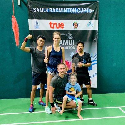 Let's play badminton?