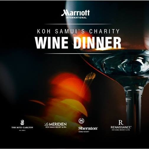 Marriott International Koh Samui's Charity Wine Dinner