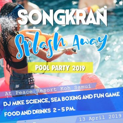 Songkran Splash Away Pool Party