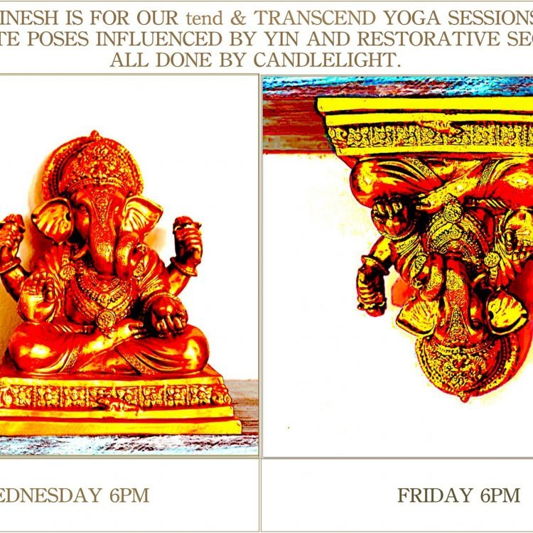 YOGA tend & YOGA TRANSCEND by candlelight
