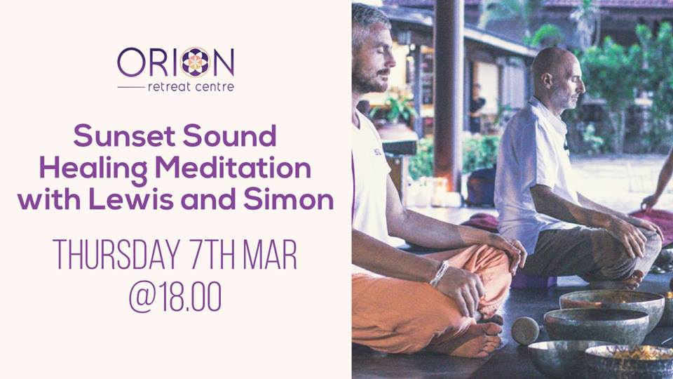 Sunset Sound Healing Meditation with Lewis and Simon