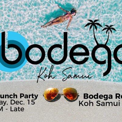 Bodega Koh Samui Soft Launch Pool Party!