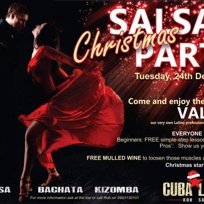 Christmas Salsa, Bachata, Kizomba party