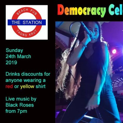Democracy Celebration Party