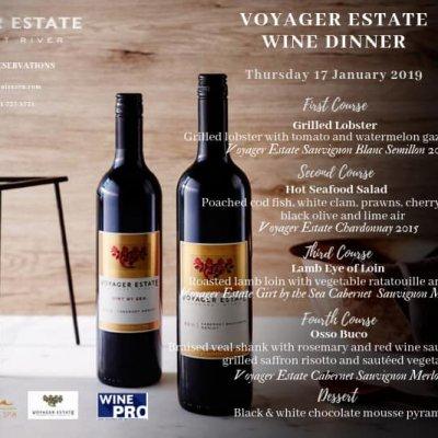 Voyager Estate Wine Dinner at Zazen Restaurant