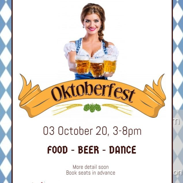 """Oktoberfest at """"The Red Baron"""" boat"""