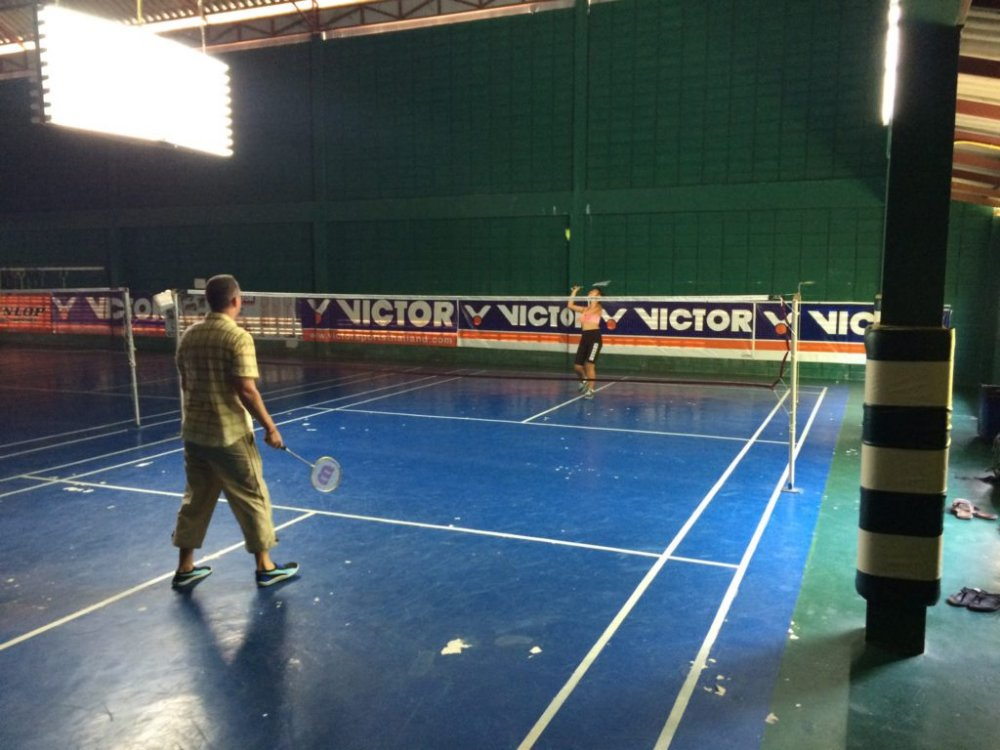 Want to play badminton?