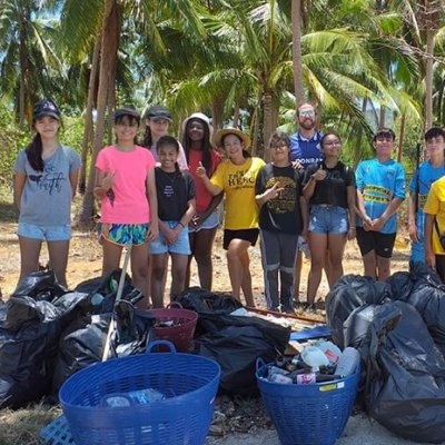 Thong Krut Beach Cleaning
