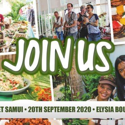 The Green Market Samui • 20th September 2020 • ตลาดสีเขียว