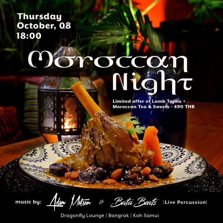 Moroccan Night @ Dragonfly Lounge