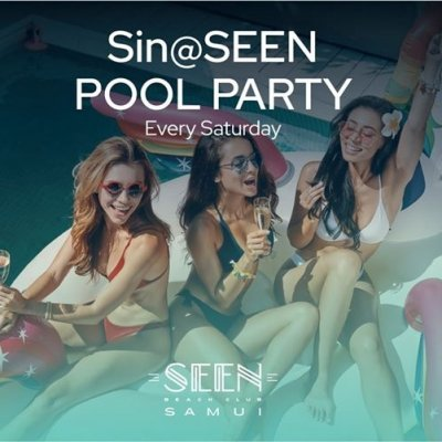 Sin @SEEN Pool Party