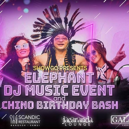 Elephant Dj Music Event & Chino Birthday Bash