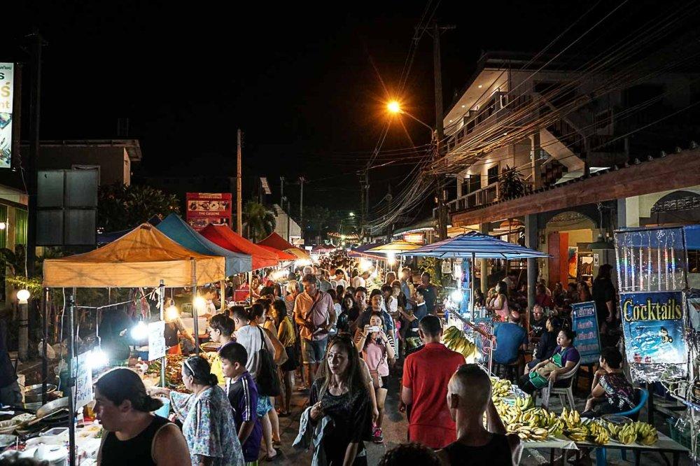 Night Market on Lamai