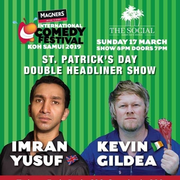 St Patricks Day Comedy Night