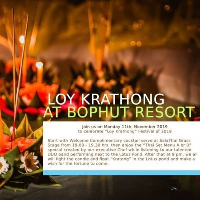 Loy Kratong Festival 2019