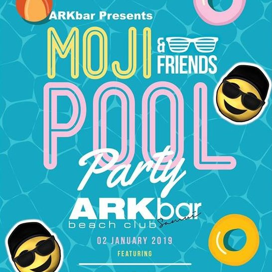 Moji & Friends Pool Party
