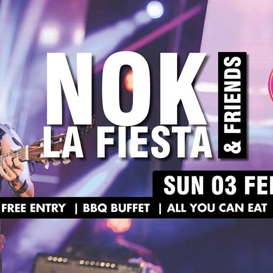Secret Garden Sunday Sessions presents: NOK La Fiesta & Friends!