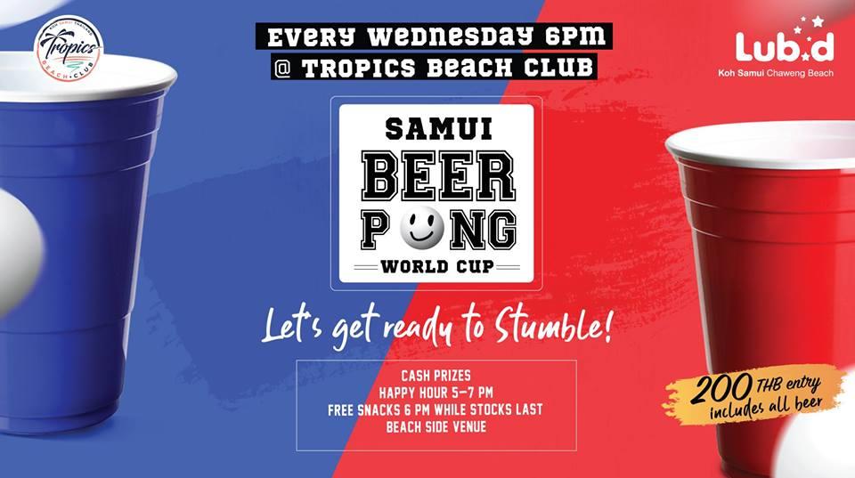 Samui Beer Pong World Cup