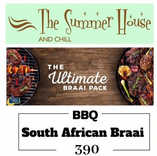 South African Braai - Saturday - IT's BBQ time
