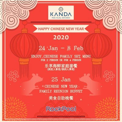 Chinese New Year 2020 at RockPool