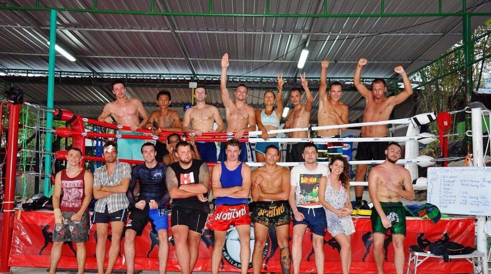 Let's get to the Muay Thai gym!