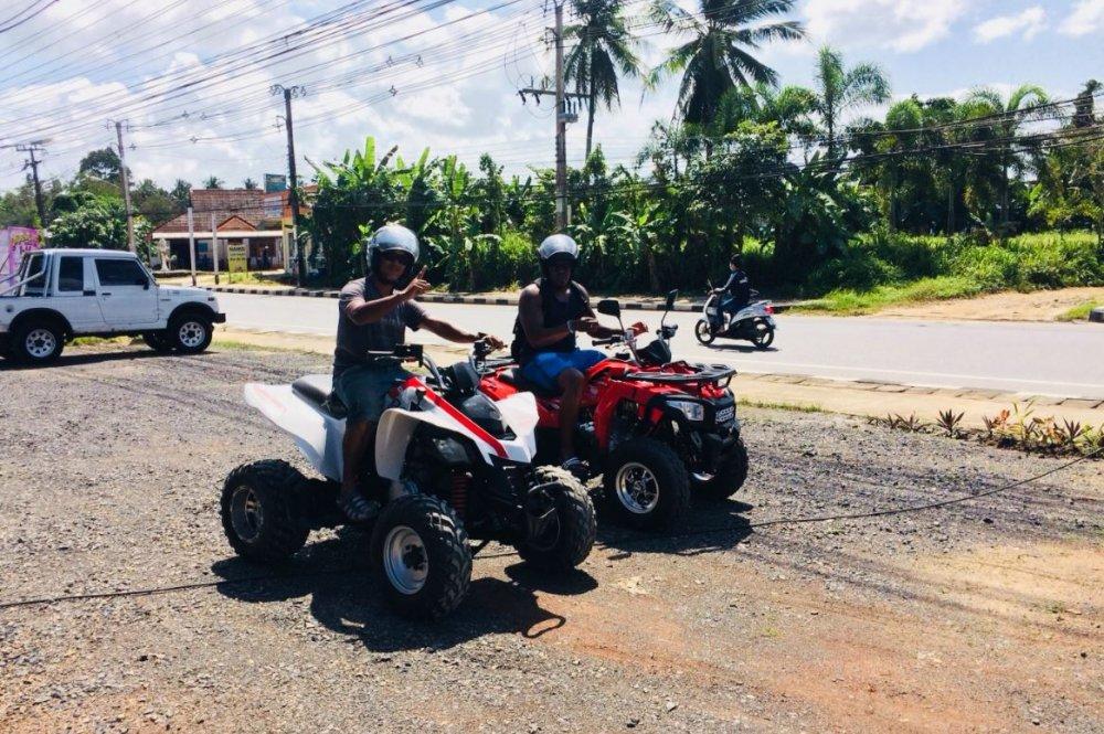 Let's go on quad bikes!